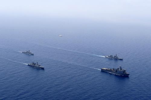 Korea joins multilateral anti-piracy exercise in Gulf of