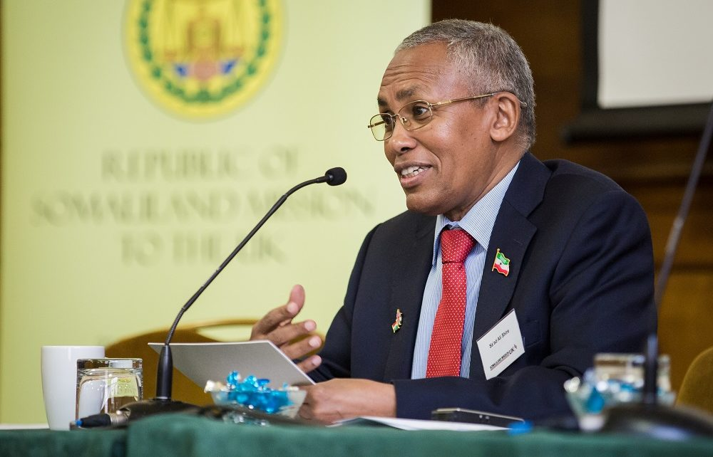 Somaliland Foreign Minister Says Uae Military Base Agreement Not