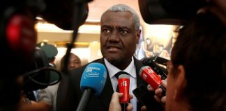 Chairperson of the African Union Commission, H.E. Moussa Faki Mahamat