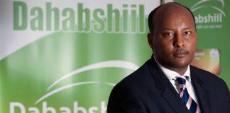 Abdirashid Duale is the CEO of Dahabshiil