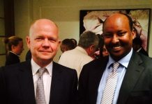 Abdirashid Duale (r) is a British-Somali entrepreneur. Photo by ITV