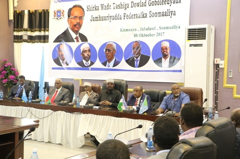 The leaders of Somalia's federal member states said Saturday that they had suspended all ties with the central government of Somalia