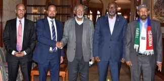 Ethiopia's goverment held peace talks with members of the Ogaden National Liberation Front (ONLF) in Asmara, Eritrea's information minister, Yemane G. Meskel said on Tuesday.