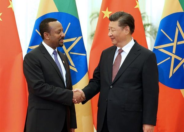Prime Minister Dr Abiy Ahmed met Chinese President Xi Jinping yesterday ahead of the 2018 Beijing Summit of the Forum on China-Africa Cooperation (FOCAC)