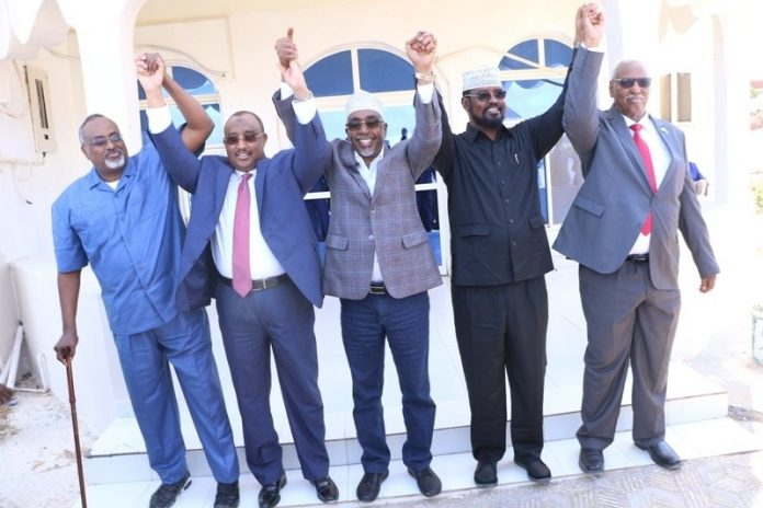 """Somali regional leaders to suspend working relationship with the Federal Government """"until all the previous agreements are implemented"""""""