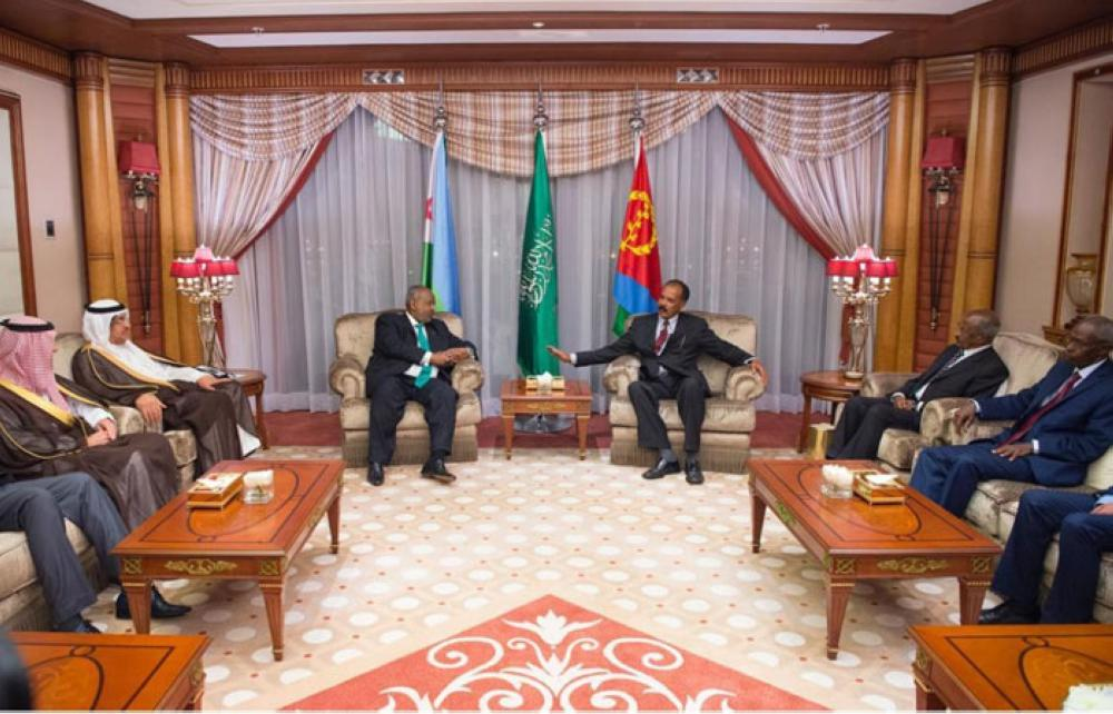 Leaders of Djibouti,Eritrea hold a historic meeting in Jeddah