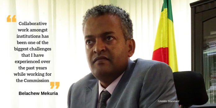 commissioner of Ethiopian Investment Commission (EIC), Dr. Belachew Mekuria has resigned Photo by AddisStandard