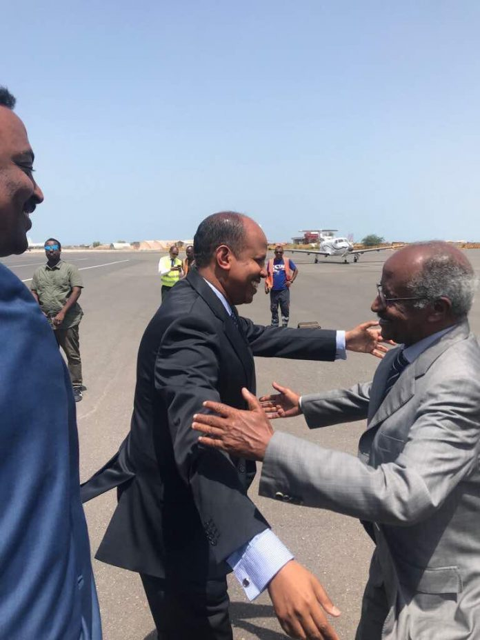 Foreign Ministers of Eritrea, Ethiopia and Somalia Arrives in Djibouti