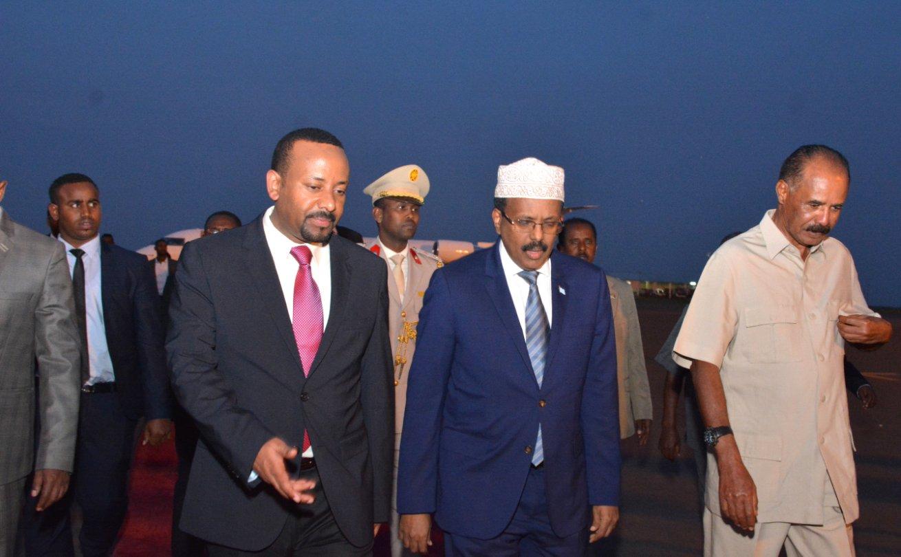 Eritrea:Somalia President arrives in Asmara - Horn Diplomat