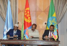 Joint Declaration on Comprehensive Cooperation Between Ethiopia, Somalia and Eritrea