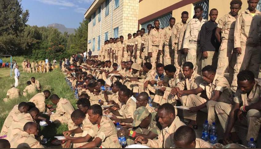 OLF Soldiers Return To Ethiopia