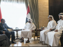 Eritrea President met and held talks with Crown Prince of Abu Dhabi