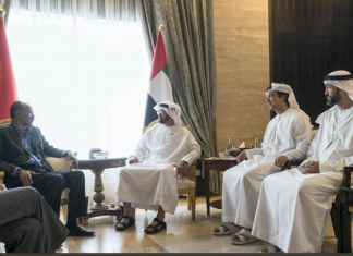 Eritrea President met and held talks with Crown Prince of Abu Dhabi