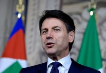 Italian Prime Minister Giuseppe Conte will visit Ethiopia and Eritrean next month photo by newsx.tv