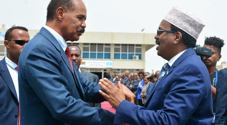 Somalia President concludes official visit in Eritrea - Horn Diplomat