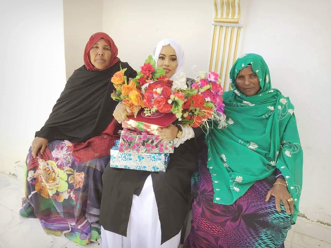Naima Abdi and her Mom Celebrated her Graduation