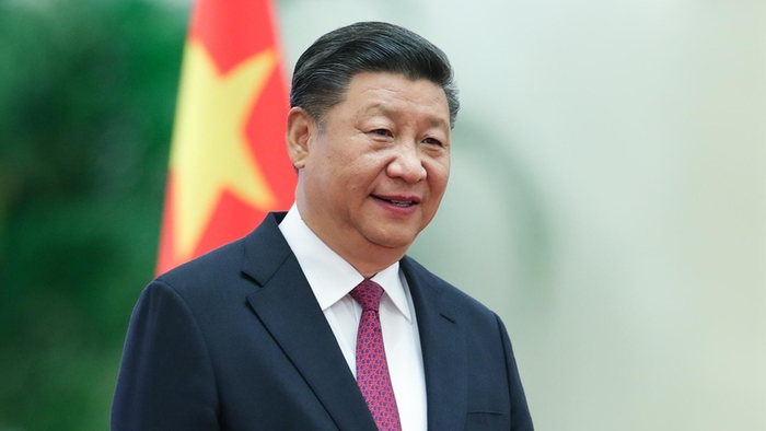 Chinese President Xi Jinping attends the a welcoming ceremony inside the Great Hall of the People Getty Images