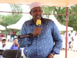 National Assembly Leader of Majority Aden Duale has lost his elder sister to cancer. /COURTESY