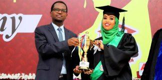 Somaliland: New Generation University Graduates over 513 Students