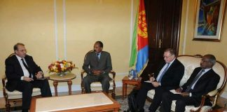 President Isaias met and held talks with Russian delegation
