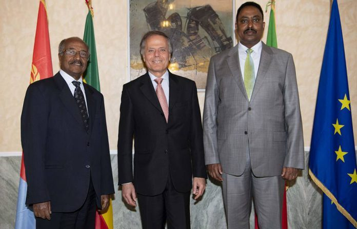 Italy has appreciated the peace accord between Ethiopia and Eritrea and pledged to extend all the necessary support for its realization.