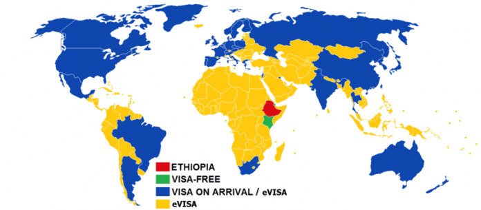 Ethiopia to introduce visa free entry for African travelers