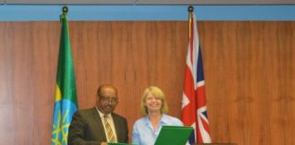 Ethiopia And UK Sign Grant Agreements Amounting £176 Mln