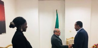 Prime Minister Dr Abiy Ahmed met here today with Mr. António Vitorino, Director General of the International Organization for Migration.