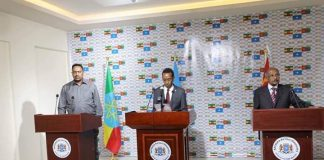 Foreign Affairs Ministers of Ethiopia, Eritrea and Somalia hold discussion