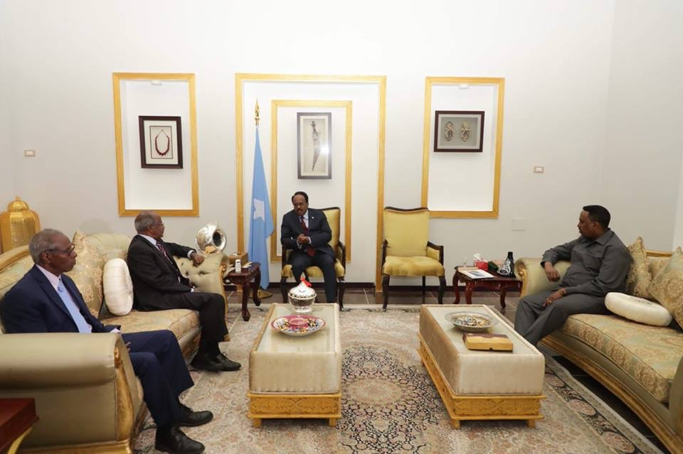 Ethiopia,Eritrea Foreign Ministers held productive discussion With President of Somalia