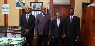 Somaliland FM meets with Kenya's National Assembly Majority Leader