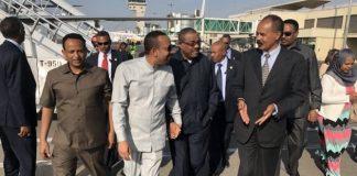 Eritrea President on official visit to Ethiopia