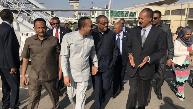 Eritrea President on official visit to Ethiopia
