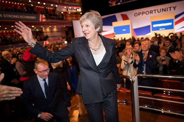 British Prime Minister Theresa May has pushed for better trade relations with African countries, endorsing the free market system.