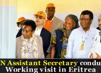 UN Assistant Secretary conducts working visit in Eritrea