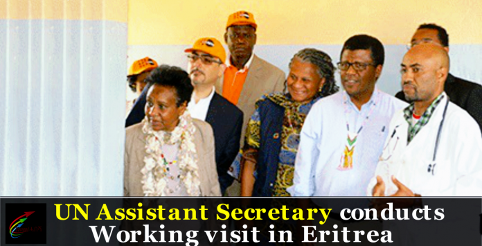 UN Assistant Secretary conducts working visit in Eritrea