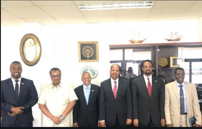 Somaliland FM Meets with Djiboutian Counterpart In Djibouti
