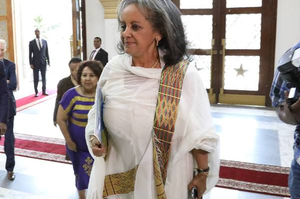 The appointment of Sahilework makes her the first female president in the modern history of Ethiopia