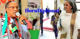 Somaliland President Muse Bihi Abdi Congratulates newly-elected Ethiopian president Sahle-Work Zewde