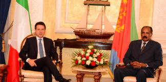 Italian Prime Minister conducts official visit to Asmara