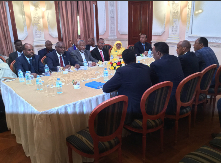 ONLF and Ethiopia agreed to end hostilities towards each other; ONLF to pursue objectives through peaceful means