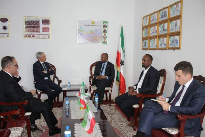Somaliland Deputy FM Receives Turkish Director General of Bilateral Political Affairs of Africa, Asia Pacific and East Ocean