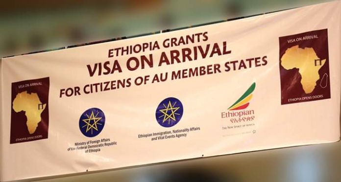 Ethiopia officially Launches Visa-On-Arrival Offer For All Africans Citizens