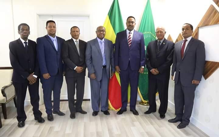 Ethiopian FM Receives credentials of Eritrean Ambassador to Ethiopia