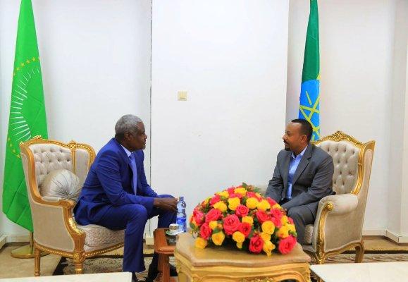 Ethiopian PM, AUC Chairperson Discuss AU Reforms