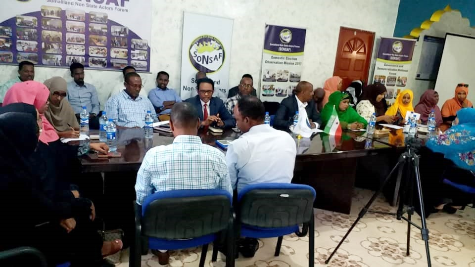 Somaliland Civil Society Declaration to the President of Somaliland on Exclusion of Women from Public Positions