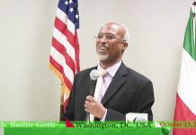 Somaliland Representative to the United States, His Excellency Bashir Goth