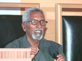 The Chairman of the Upper House, Abdi Hashi Abdullahi