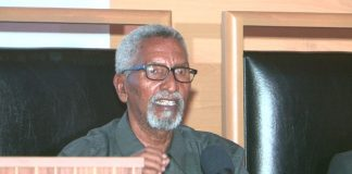 The Chairman of the Upper House, Abdi Hashi Abdullahi