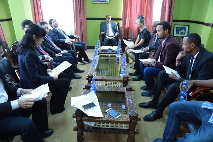 China keen to Expand Investment in the Development of Industrial Parks in Ethiopia